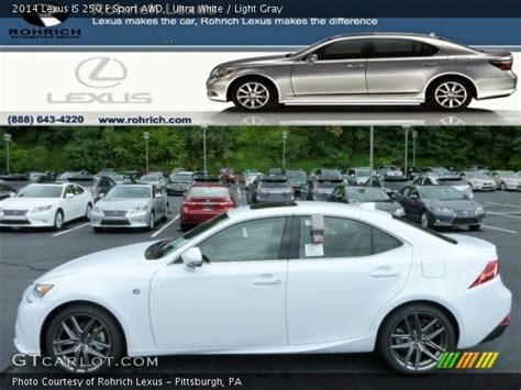 white lexus is 250 2014 ultra white 2014 lexus is 250 f sport awd light gray