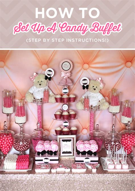 How To Set Up A Candy Buffet Step By Step Instructions How Much To Buy For Buffet