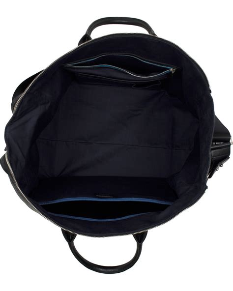 This Paul Smith Bag Looks Better If You Squint by Paul Smith Accessories Holdall Weekend Bag Black Hos