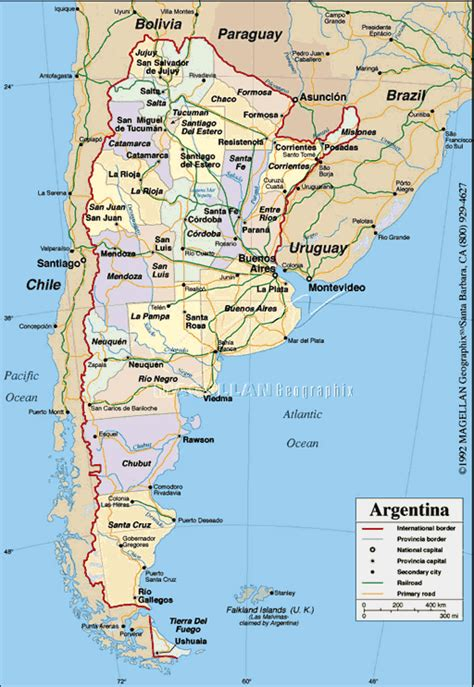 map of argentina with cities argentina map with cities