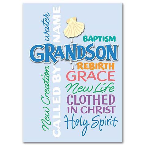card grandson grandson baptism baptism card grandson