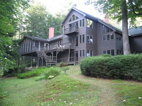 Cottage Sleeps 20 by Beautiful Lakefront Home With Bonus Cottage Vrbo