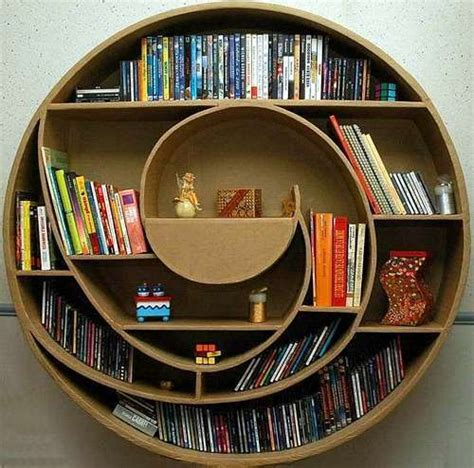 fashion and art trend cool bookshelf design bookcase