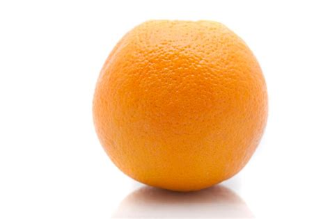 Fruity Orence one whole fresh orange free stock image