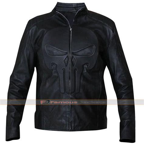 black motorcycle jacket punisher skull black motorcycle leather jacket