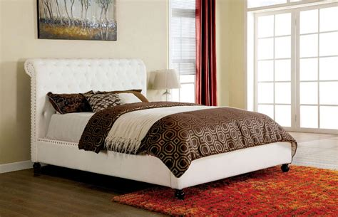 button tufted bed white button tufted queen bed