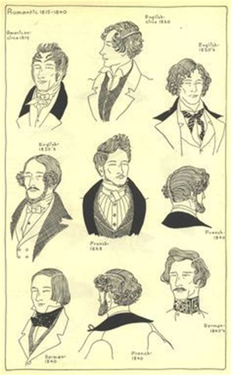 vigina hair history styles men s hairstyles france 1830 s men s fashion 1700s 1840