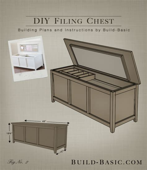 Bed Ottoman Bench Build A Diy Filing Chest Build Basic