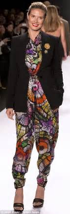 Yay Or Nay Wednesday Catwalk 5 by Heidi Klum Wears Cut Out Blazer And Garish All In