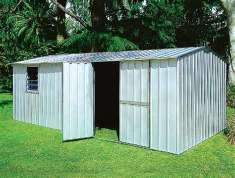 Yardstore Sheds how to make a shed yourself yardstore garden shed zinc f44