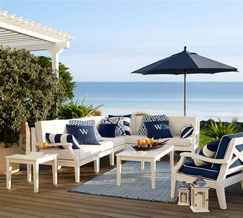 pottery barn outdoor sectional pottery barn outdoor furniture sale 30 off sectionals
