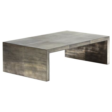 Waterfall Coffee Table Oly Studio Giles Grey Waterfall Coffee Table Kathy Kuo Home