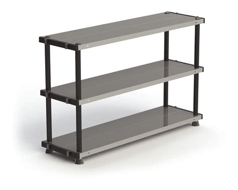 plastic bookshelves metal plastic 18 x 66 3 shelves shelves