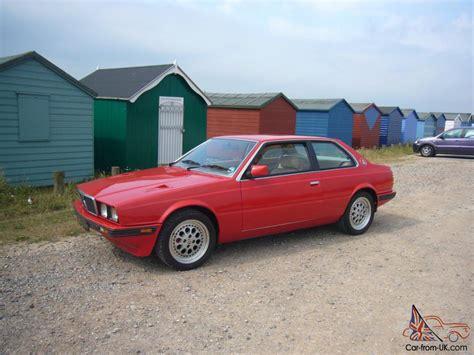 maserati biturbo sedan maserati biturbo 2 5 coupe ferrari red 63k stunning