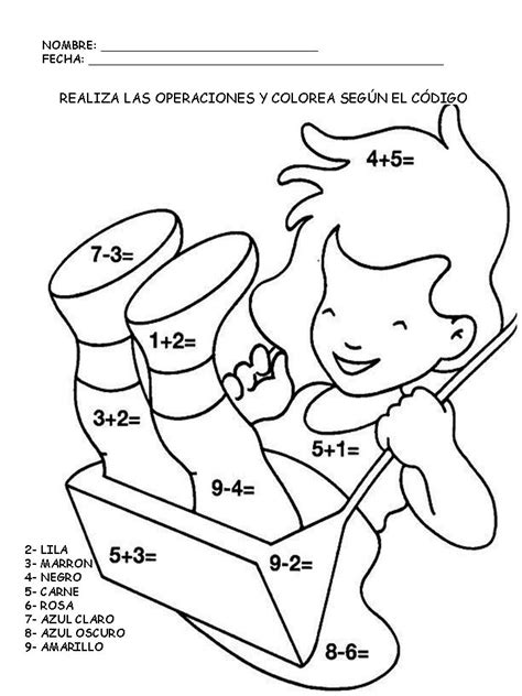 imagenes para pintar niños de dos años matematicas para colorear imprimibles opticanovosti