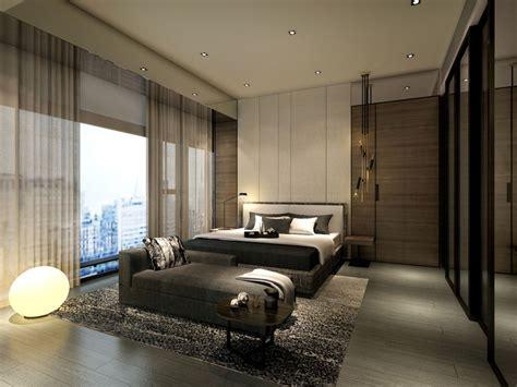 service apartment interior design mocha unit master