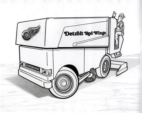 coloring pages zamboni zamboni coloring page google search coloring pages for