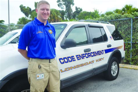 Officer Code by Town Hires New Code Enforcement Officer Longboat Key