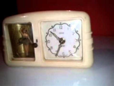 relogio peter ballerina alarm clock germany youtube