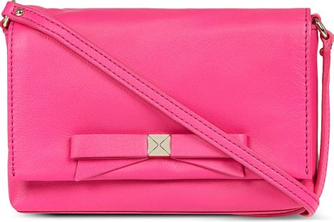 kate spade light pink crossbody kate spade bright light carah crossbody bag in pink peony