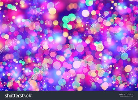 Girly Colorful Lights Composition Stock Photo 125015159 Girly Lights