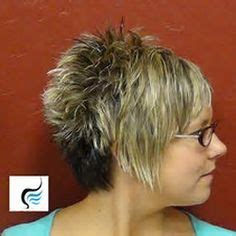 spiked crown with bob cut and long bangs short hairstyles back view length asymmetrical pixie