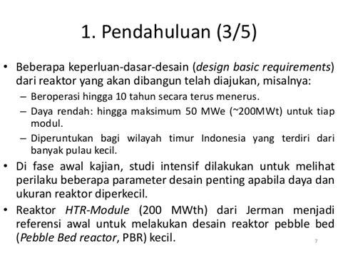 Manajemen Biaya 1 Dan 2 Ed 5 prosedur desain high temperature reactor htr tipe pebble bed
