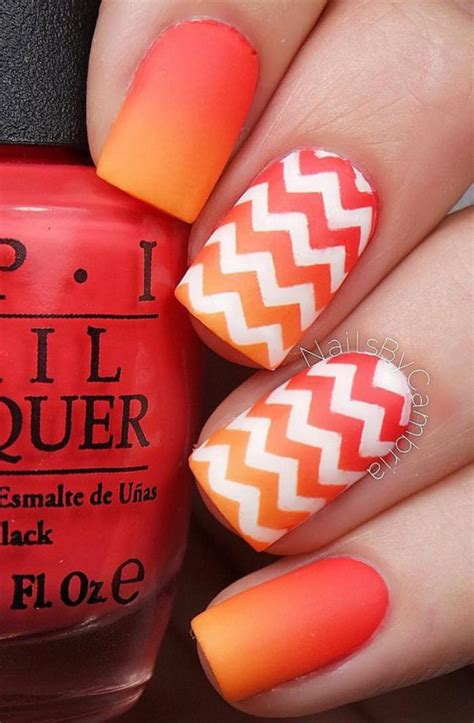 Deco Ongle Gel Orange by Invitez La Couleur Avec Une D 233 Co Ongles Pour L Ete 224