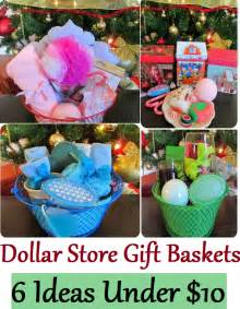 Dollar store last minute christmas gift ideas for cheap gift baskets