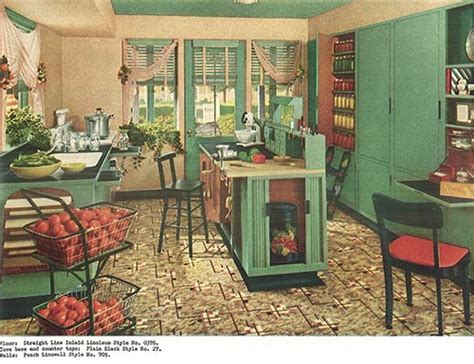 1940s Home Decor Style 1940 Kitchen Design Hairstyles