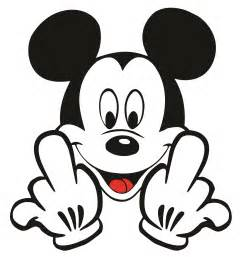 gallery gt mickey mouse middle finger drawing
