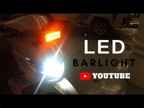 Lu Led Yamaha Xeon mio soul i set up projector front and rear funnydog tv