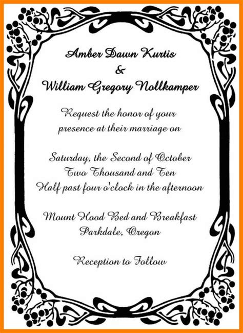 Wedding Invitations With Border Design by Wedding Invitation Card Border Designs Yourweek