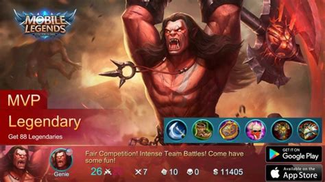 Mobile Legends Balmond 2 mobile legends legendary mvp balmond best item build strategies guide unstoppable