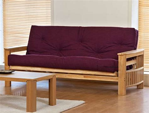 solid wood futons kyoto jasmin solid wood futon bed buy online at