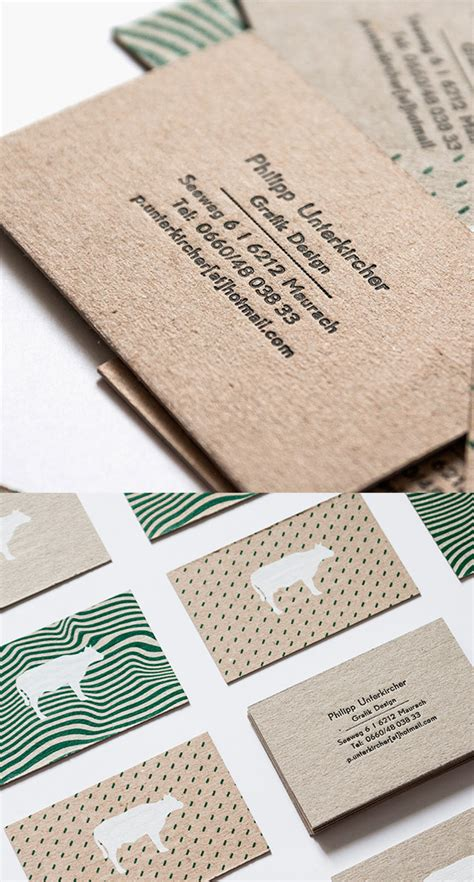 letterpress business cards 26 new exles design