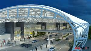 Canopy Airport by Fly Through Atlanta S Dramatic New Airport Canopy Video