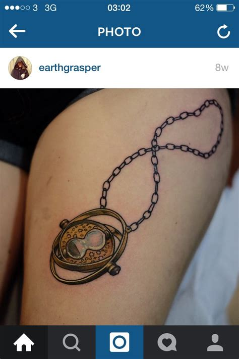 time turner tattoo 284 best images about harry potter tattoos on