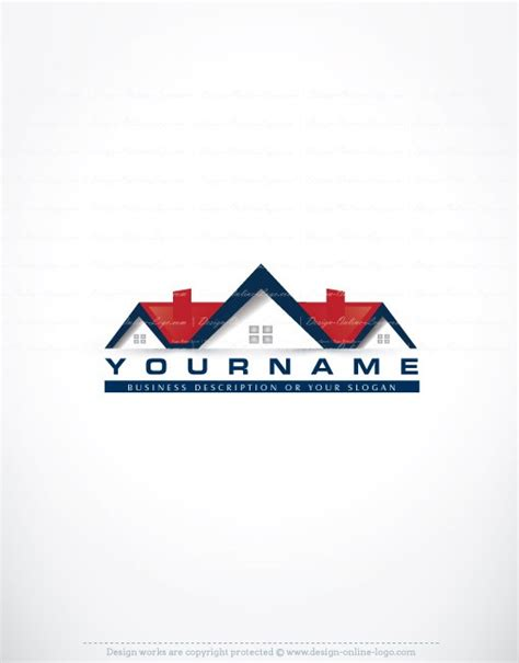 home design logo free house real estate logo compatible free business card