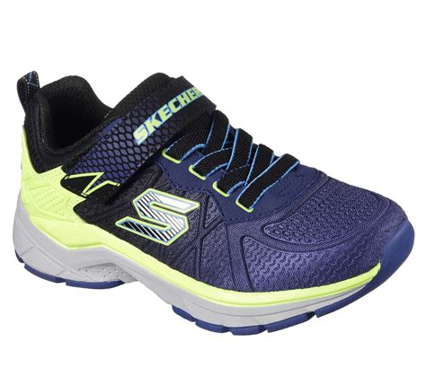 neon athletic shoes skechers boys ultrasonix navy neon yellow athletic shoe