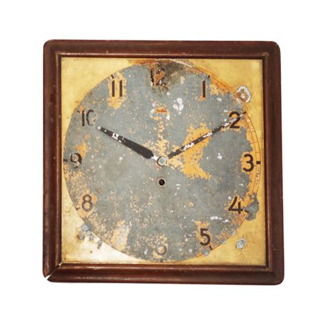 art wall clock art deco mauthe wall clock at 1stdibs