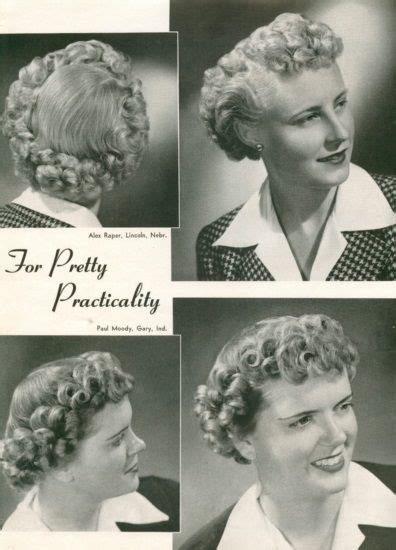 hairstyle facts from the 1940 29 best 40 s hairstyles images on pinterest retro