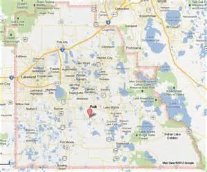polk county florida map