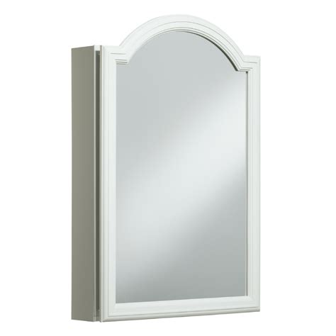 recessed mirrored medicine cabinets for bathrooms shop kohler devonshire 20 in x 29 5 in rectangle surface