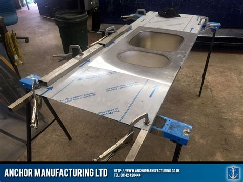 weld in stainless steel sinks sheffield kitchen canopy kitchen equipment fabrication