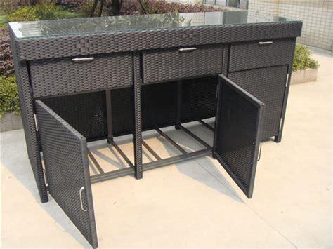 rattan schrank aluminum frame rattan bar table cheap rattan cabinet buy