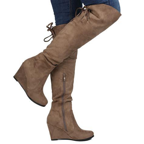 calf high heels womens boots knee high heels calf fold lace