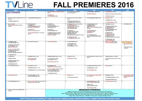 tv list for the 20162017 fall schedule on all networks tv 2016 2017 death watch anandtech forums