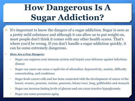 Signs Of Sugar Detox by How To Cure Sugar Cravings
