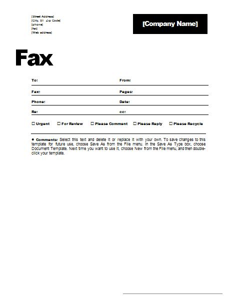 Fax Form Template Free send free fax to the u s and canada